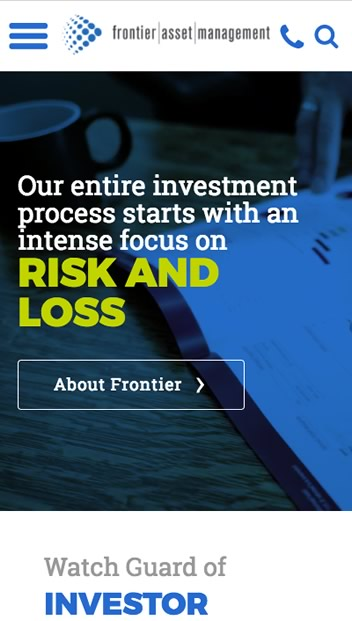 Mobile - Frontier Asset Management