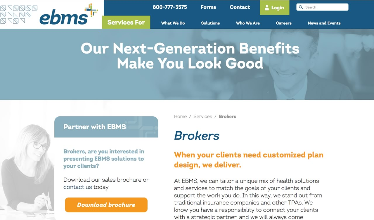 EBMS - desktop
